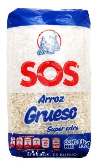 Sos Azul Arroz Tipo Morelos Bolsa 1 Kg