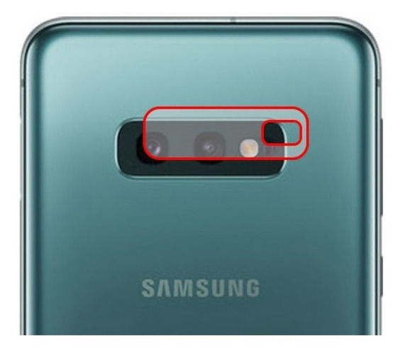 Película Hprime Para Lente Da Câmera Samsung Galaxy S10e
