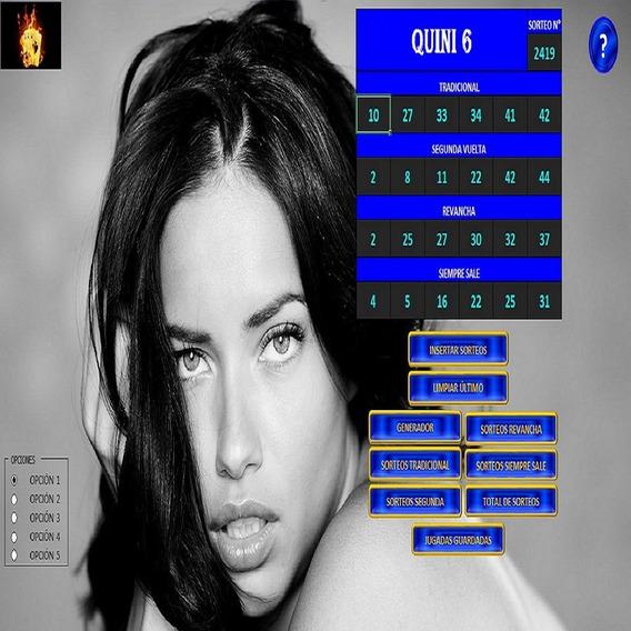 Metodo Para Ganar El Quini 6 - Original