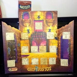 Elma Chips Chipssustos Completa Com 45 Figurinhas + 3 Albuns