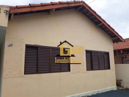 Casa Com 3 Dormitórios À Venda, 81 M² Por R$ 321.000 - Independência - Ribeirão Preto/sp - Ca0613