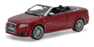 Audi Rs4 Conversível 1:18 Maisto 31147-vermelho