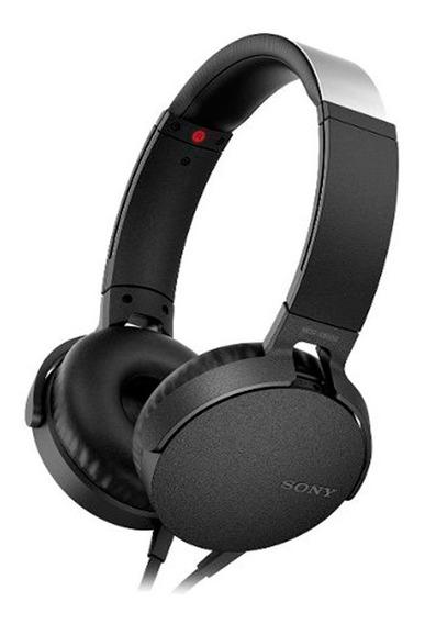 Auriculares Vincha Sony Xb550apo Negro