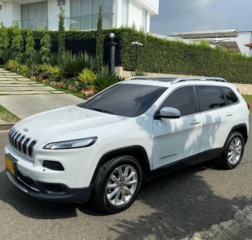 Jeep Cherokee Limited 3.2 2015 Blanca 5 Puertas