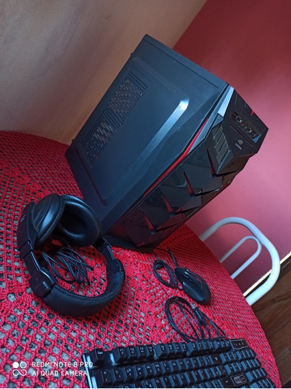 Pc Gamer + Kit Gamer !!! Leia A Descrição