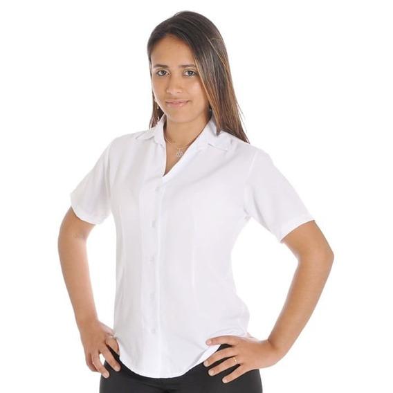 Blusa Feminina Camisete Social Preço Branco