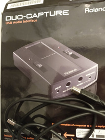 Interface De Audio Usb Roland Duo Capture Mk2 - Ua11 Mk2