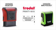 Sello Automatico Trodat Printy 4910 Precio De Remate