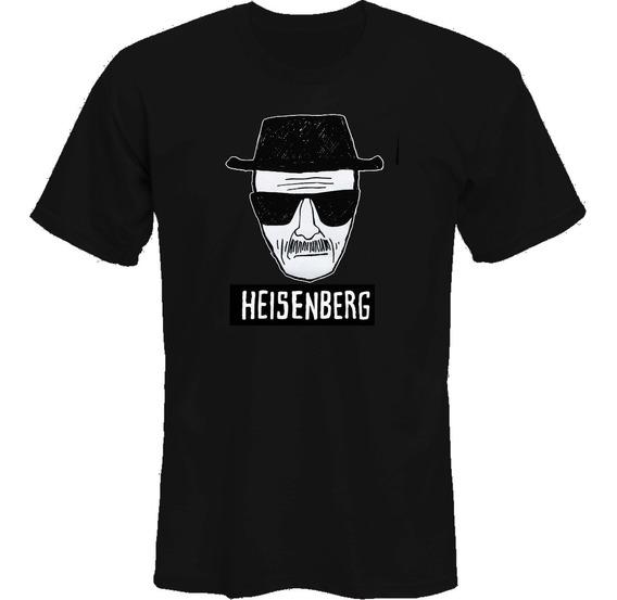 Remera Breaking Bad Heisnberg Dibujo *mr Korneforos*