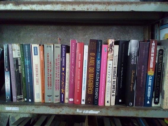 Lote Com 120 Livros De Literatura Estrangeira