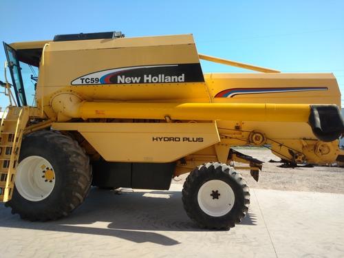 New Holland Tc59 - Año 2006 - Cabezal De 23 Pies