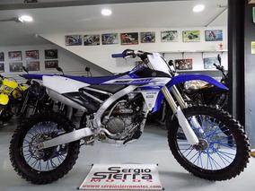 Yamaha Yz250 Azul 2016