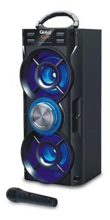Parlante Doble Global Karaoke Bluetooth Pendrive Micro