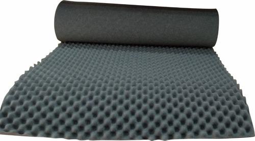 Imagen 1 de 6 de Espuma Acustica Profesional Para Ruido 1mt X2mts X 5cm