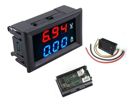 Voltímetro Amperímetro Digital Dc 0-100v 10a