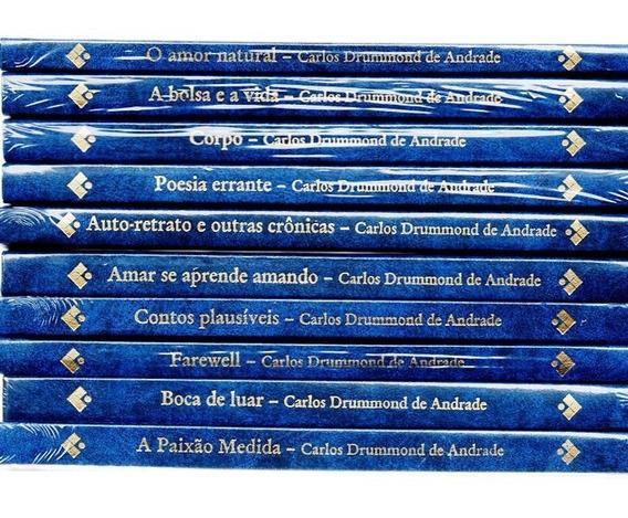 Coleção Comemorativa Dos 100 Anos Carlos Drumond De Andrade