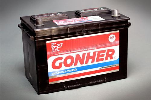 Batería Gonher Kia K2500 Bongo Euro 3 - Euro 5 - 150a