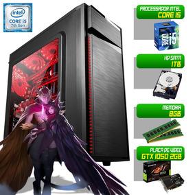 Computador Gamer Completo 1151 I5 7400 8gb 1tb Gtx 1050 450w