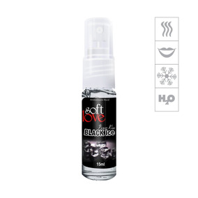 Aromatizante Bucal Power Kiss 15ml - Black Ice