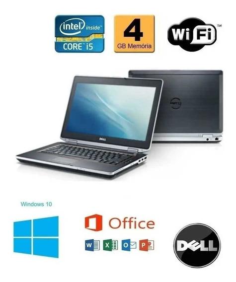 Notebook Dell Latitude E6420 Core Intel I5 4gb Ddr3 Hd 250gb