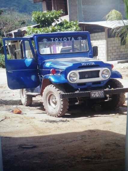 Vendo Mi Lindo Toyota Land Crusier Año 71 4x4