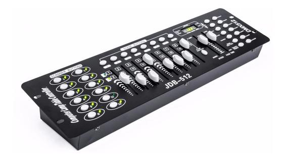 Mesa Controladora Efeito De Luz Strobo Dmx 512 C/ 192 Canais
