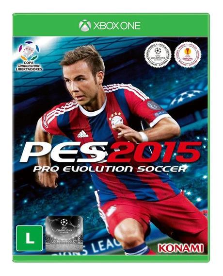 Pro Evolution Soccer 2015 - Xbox One - Mídia Física - Usado