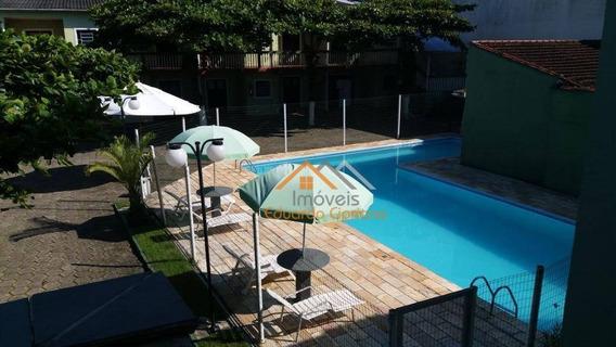 Apartamento Com 1 Dormitório À Venda, 40 M² Por R$ 250.000 - Massaguaçu - Caraguatatuba/sp - Estuda Permuta Chácara Região De Lavras Mg - Ap0204