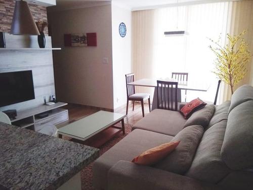 Lindo Apartamento Com 3 Dormitórios À Venda Por R$ 520.000 - Vila Bela - São Paulo/sp - 15192