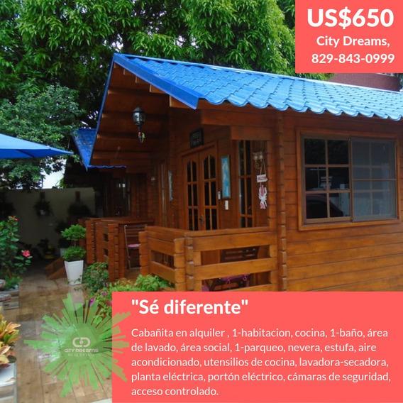 Rento Cabañas En Santiago, Us$650.