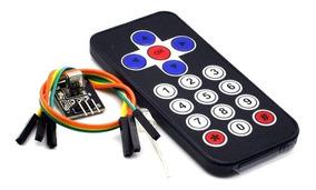 Kit Controle Remoto + Módulo Rx Tx Infra Vermelho Arduino 59