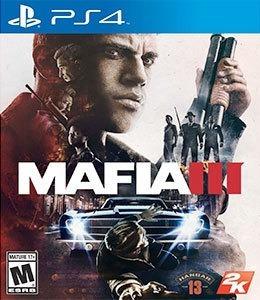 Jogo Mafia 3 Ps4 Playstation 4 Mídia Física