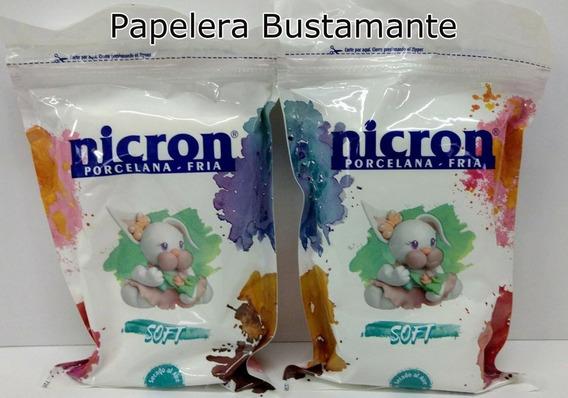Porcelana Fria Nicron Soft X 10 Paquetes De 325 Grs