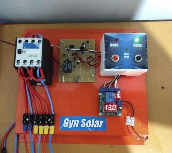 Quadro De Transferência Automática Energia Solar 10a 220v