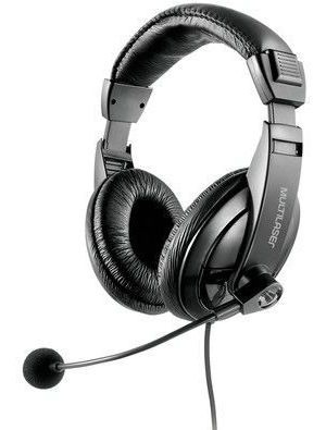 Headset Multilaser Usb Giant Preto - Ph245