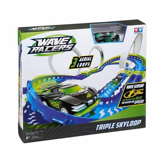 Pista De Autos Wave Racers Triple Skyloop