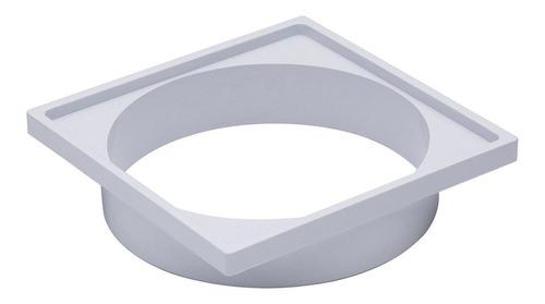 Porta Grelha Plast Liege Quadrado Br 15 Cm