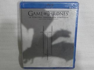 Game Of Thrones Juego De Tronos Temporada 3 Bluray