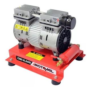 Compressor Ar Direto Isento De Óleo 1,8hp Cmi-8,0 Motomil