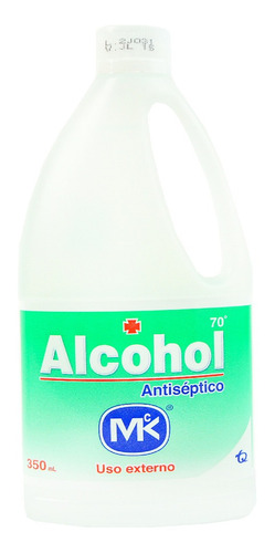 Alcohol Antiseptico Frasco X 350 Mlt Mk