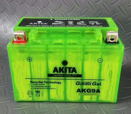 Imagen 1 de 6 de Bateria Pila Gel Akita Pulsar 200 Ns Envio Gratis Ultima!!