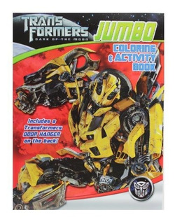 Transformers Coloring And Activity Book Assorted Libro De A