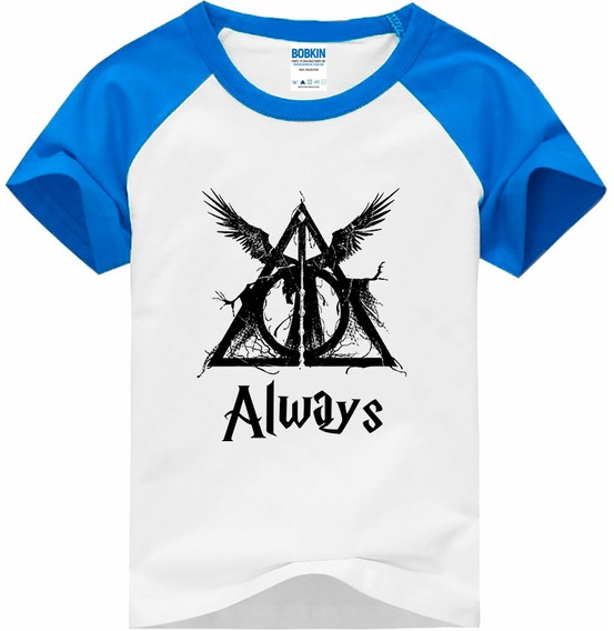 Camiseta Raglan Infantil Always - Harry Potter