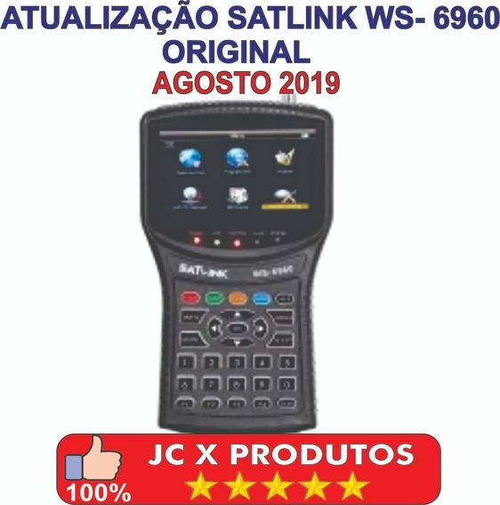 Atualização Satlink Ws-6960 Hd Original Agosto 2019