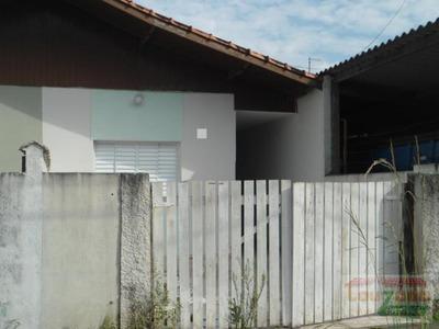 Casa Para Venda Em Peruíbe, Novo Horizonte, 1 Dormitório, 1 Banheiro, 1 Vaga - 0089