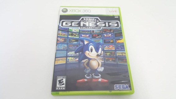 Jogo Sonic Ultimate Genesis Collection - Xbox 360 - Original