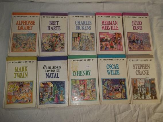 Os Melhores Contos Da Literatura Estrangeira Lote 10 Livros