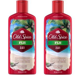 Old Spice 2 En 1 Shampoo And Conditioner, Fiji, 12 Onzas Paq