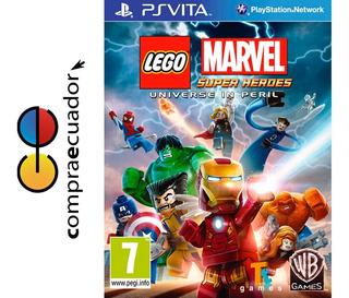 Lego Marvel Super Heroes Ps Vita Psvita Juego Fisico Nuevo