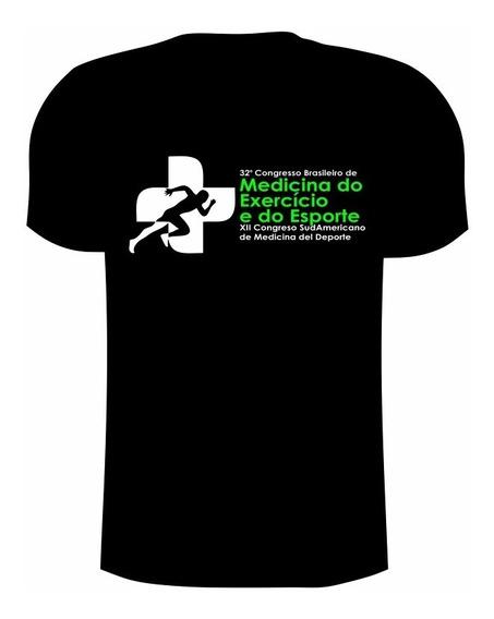 Camiseta Dry Fit De Poliamida Com Uv50+ Oficial Congresso